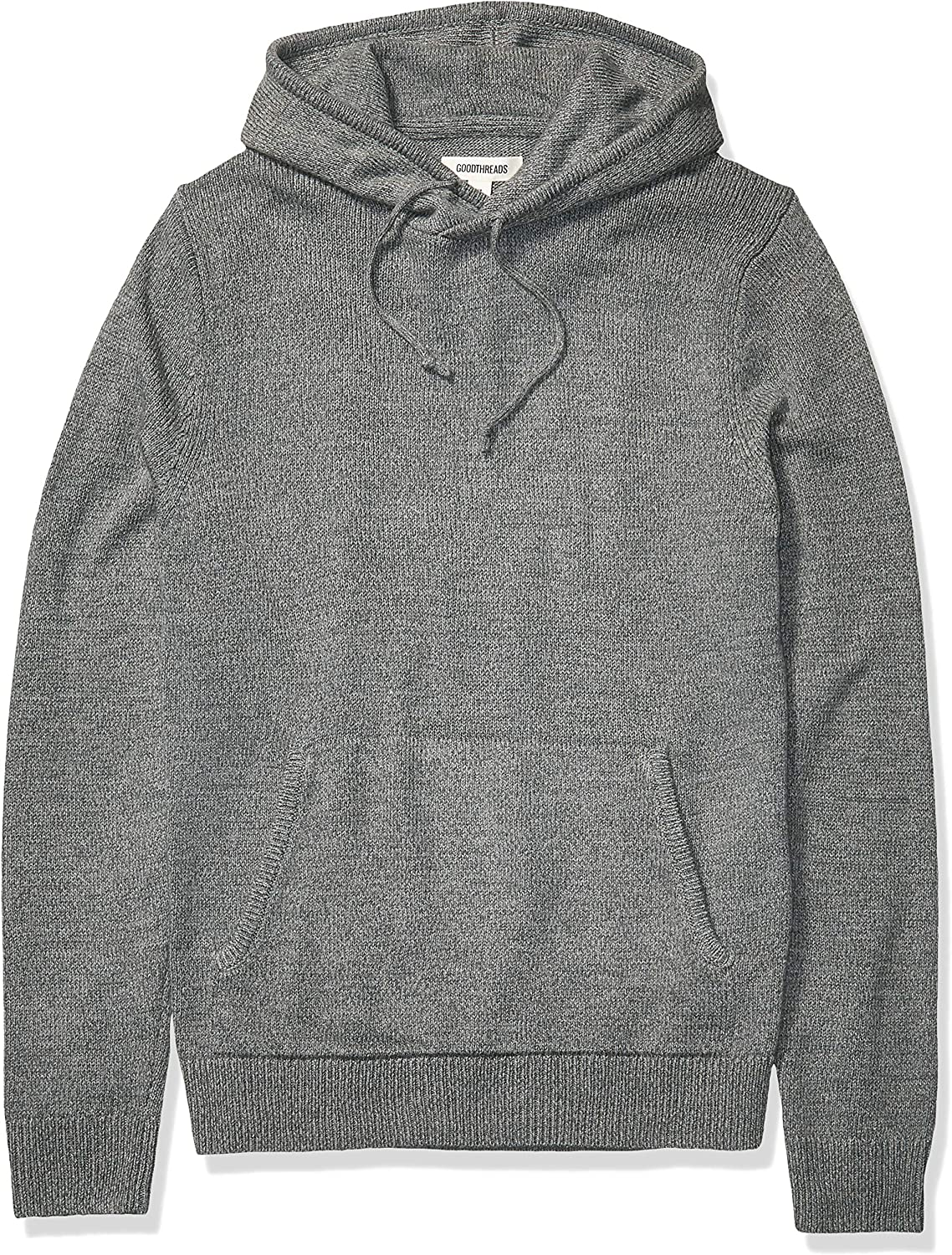 Amazon Brand - Goodthreads Men's Supersoft Marled Pullover Hoodie Sweater