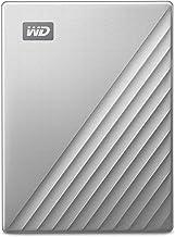 WD 2TB My Passport Ultra for Mac Silver Portable External...