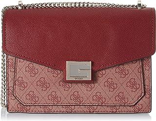 حقيبة فالي ساتشيل قابلة للقلب بحزام يمر بالجسم وقابلة للتحويل للنساء، مقاس موحد المقاس 24 × 17 × 6 سم