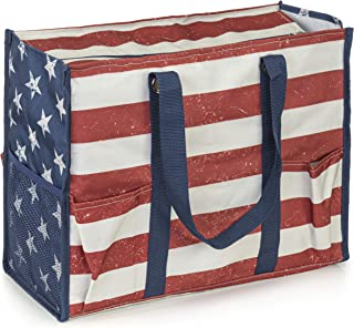 VP Home Large All Purpose Utility Tote Bag (Old Glory)