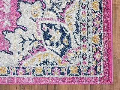 """Catania Jaida Home Pink (4'10""""x8') Rug"""