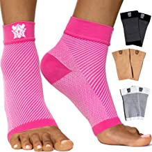 Bitly Ankle Brace Support Socks Women for Foot Pain, Plantar Fasciitis, can be Used as Dorsal Night Splint Reflexology Tool, Spurs for Flat feet & Foot wrap ace for Sleep Support