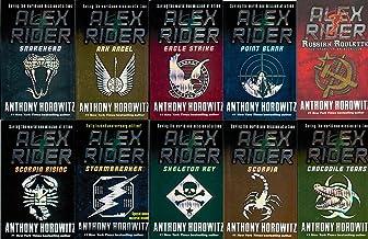 Alex Rider 10 Set : Stormbreaker, Point Blank, Skeleton Key, Eagle Strike, Scorpia, Ark Angel, Snakehead, Crocodile Tears,...