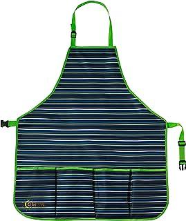 oGrow Delantal de Alta Calidad para Jardinero con Cuello Ajustable y Cinturones de Cintura