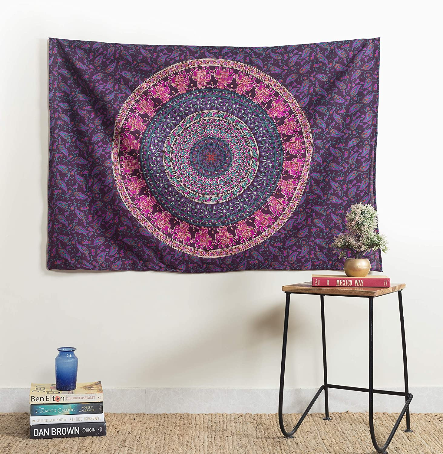 Popular Handicrafts Kp1250 Hippie Mandala We OFFer at ! Super beauty product restock quality top! cheap prices Bohemian Tapestry Wall