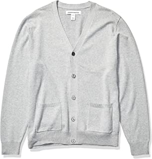 Amazon Essentials Men's Cotton Sweater Cardigan