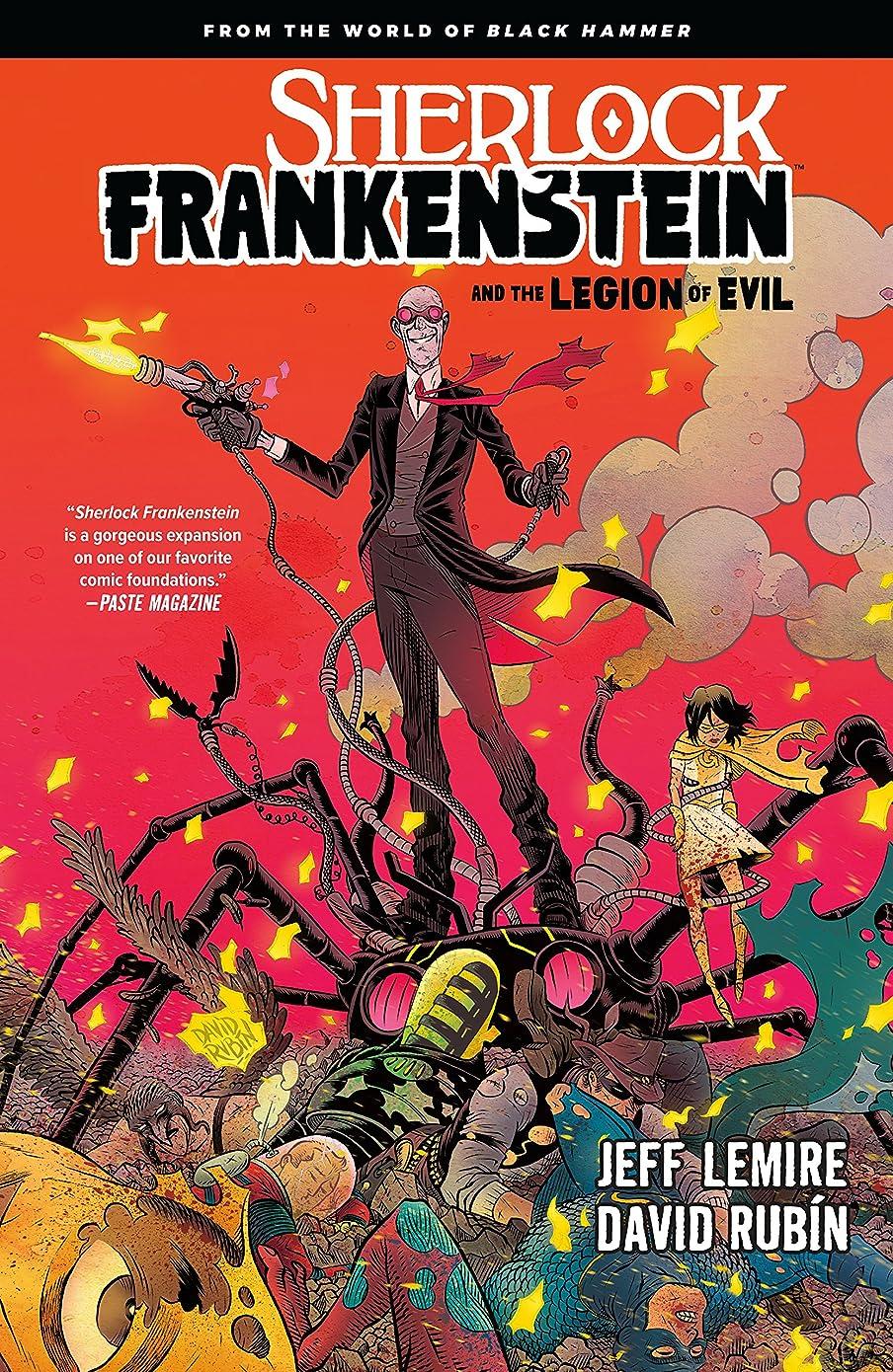 顕著発掘する橋脚Sherlock Frankenstein Volume 1: From the World of Black Hammer (English Edition)