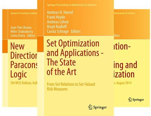 Springer Proceedings in Mathematics & Statistics (101-148) (48 Book Series)