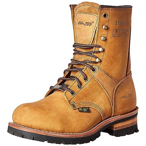 e7a5f8a63b9e6 Logging Boots: Amazon.com