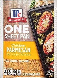 McCormick Chicken Parmesan One Sheet Pan Seasoning Mix, 1.5 oz