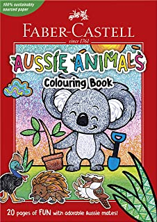 Faber-Castell 84-010182 Aussie Animals A4 colouring book