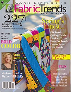 Mark Lipinski's Fabric Trends For Quilters (Spring's hottest, Spring 2011)