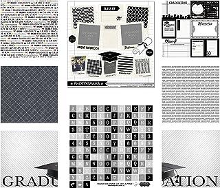 Scrapbook Customs Themed Paper and Stickers Scrapbook Kit, Graduation