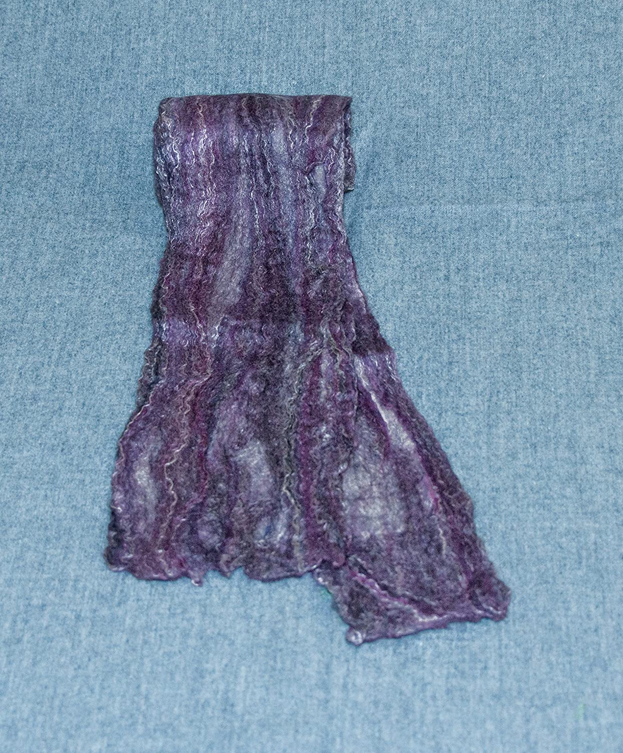 Washington Mall Merino Wool and Silk Women's Felted is Color Black Curren Max 81% OFF Scarf.