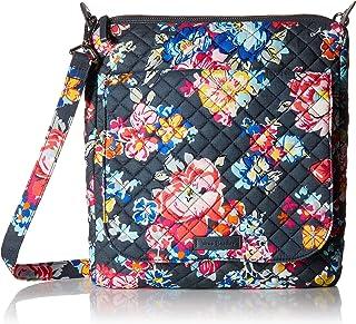 Vera Bradley Women's Carson Mailbag, Signature Cotton Shoulder Bag, One Size