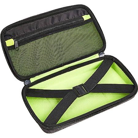 Amazon Basics - Grande custodia in EVA per accessori, 26,67 cm, grigio cenere