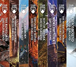 The Runelords Series: (The Runelords, Brotherhood of the Wolf, Wizardborn, The Lair of Bones, Sons of the Oak, Worldbinde...