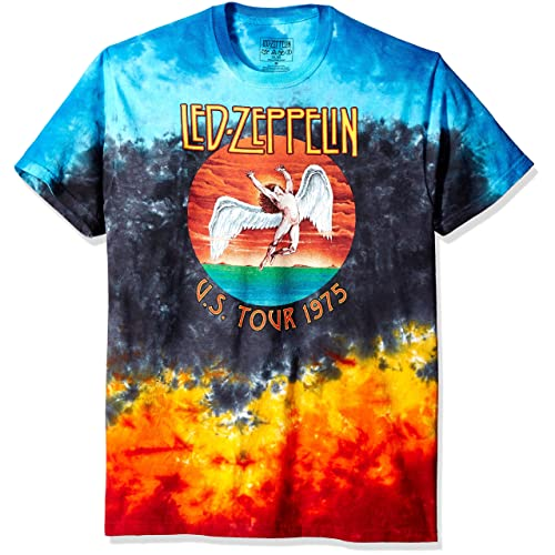 ea77ae66d0ab Liquid Blue Men's Led Zeppelin Icarus 1975 T-Shirt