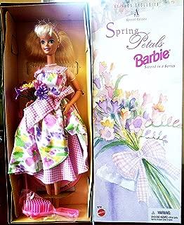 Mattel Avon Special Edition Spring Petals Barbie Doll Second in Series