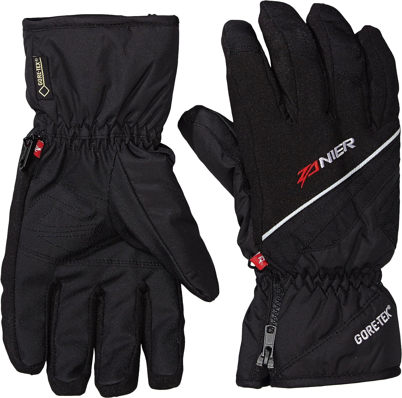 Zanier Handschuhe Sölden ZX Herren Damen Skihandschuhe Wasserdicht schwarz M-XXL