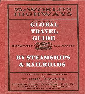 INTERNATIONAL SLEEPING CAR COMPANY: 1911 GLOBAL TRAVEL GUIDE