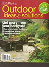 The Best of Fine Gardening Outdoor Ideas & Solutions Magazine (Get more from your backyard, Spring 2012)
