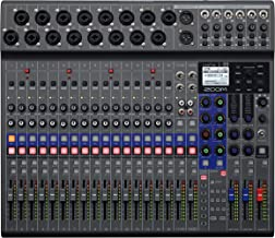 Zoom LiveTrak L-20 Digital Mixer & Multitrack Recorder, 20-Input/ 22-Channel SD Card Recorder, 22-in/4-out USB Audio Inter...