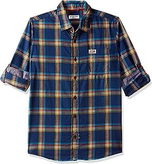 US Polo Association Kids Boys' Checkered Regular Fit Shirt