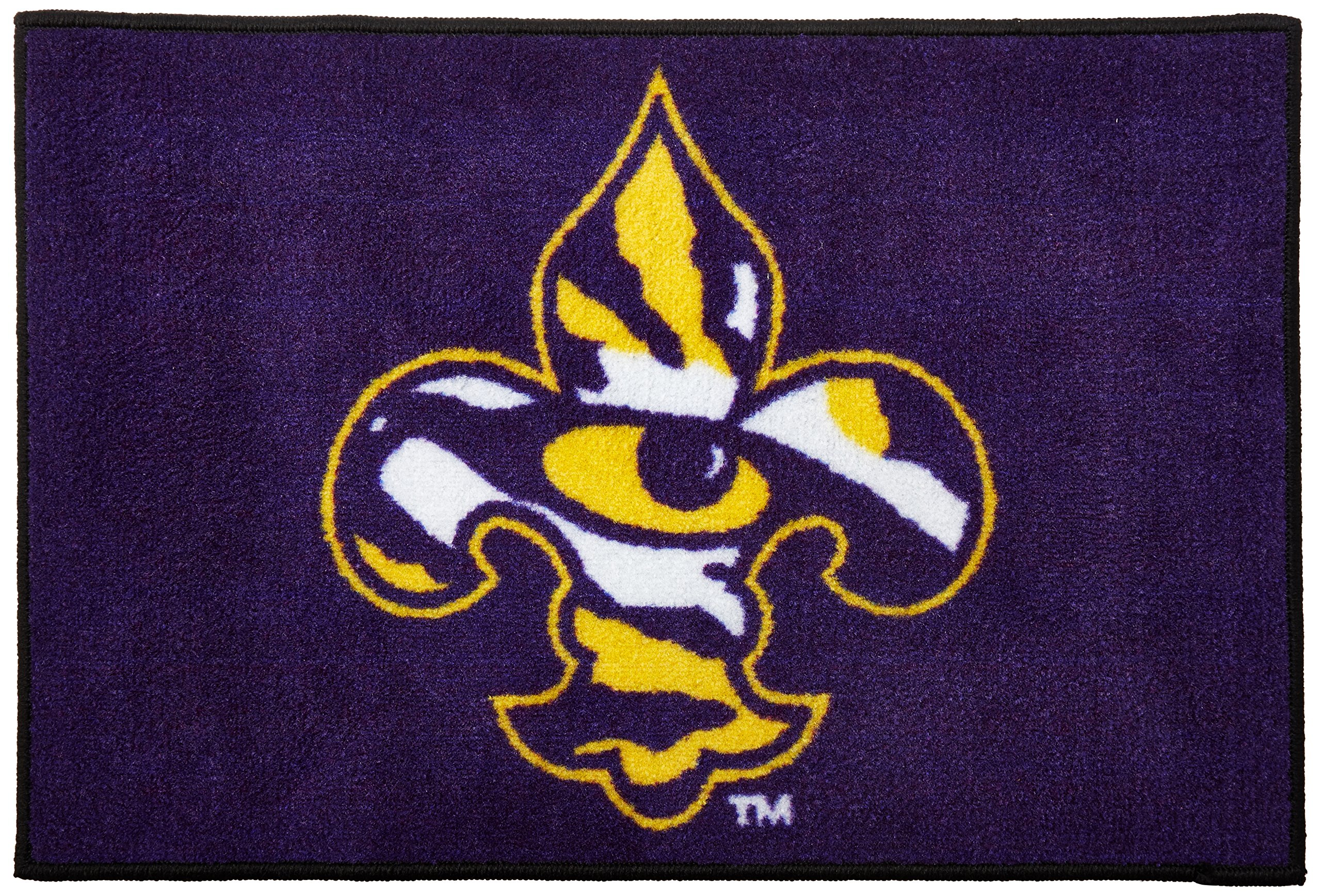Fanmats LSU Tigers Metal Chrome License Plate Frame Delivery 2-4 Days