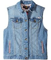 Lucky Brand Kids - Denim Vest w/ Embroidery (Big Kids)