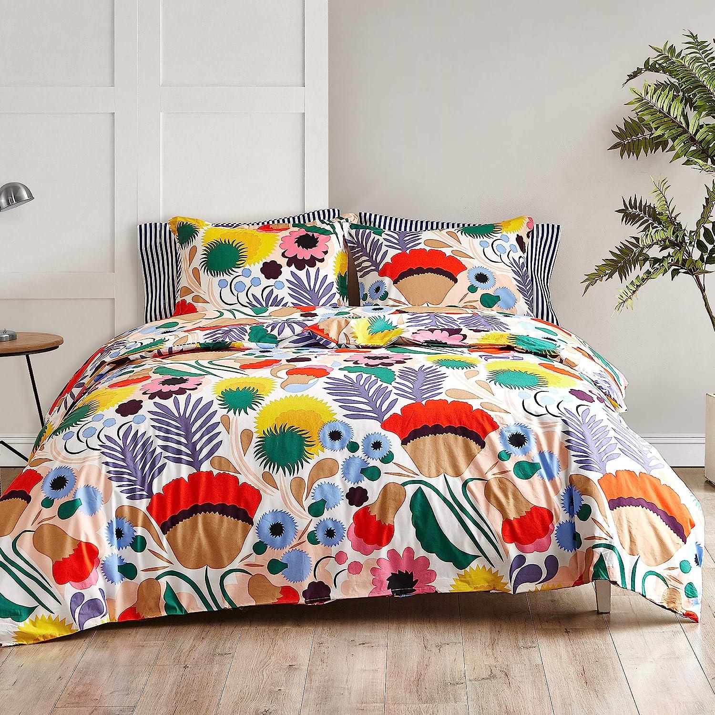Marimekko 221435 Ojakellukka Duvet Multi New Free Shipping Set King Cover shopping