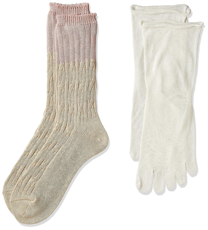 (ナイガイ)naigai concept 重ね履き2足セット ビギナー用 綿&シルク