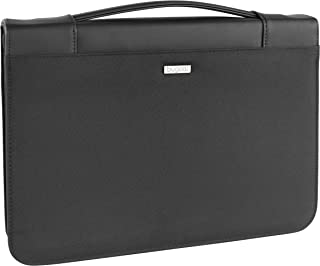 Bugatti Ufficio - Soporte para Documentos con Bolsa organizadora (35 cm), Color Negro