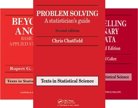 Chapman & Hall/CRC Texts in Statistical Science (50 Book Series)