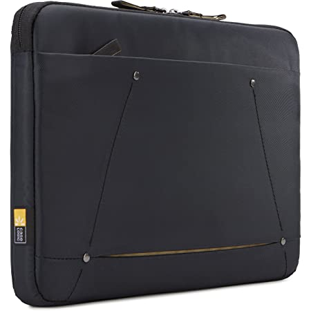 "Case Logic 3203689 Deco 13.3"" Laptop Sleeve, Black"