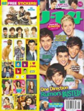 One Direction (1D), Justin Bieber, Selena Gomez, Miley Cyrus, Liam Hemsworth, 62 FREE STICKERS - August, 2012 J-14 Magazine