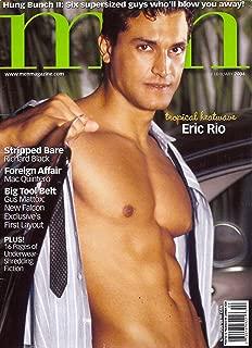 Eric Rio l Mac Quintero l Gus Mattox l Richard Black l The Hung Bunch l Gay Interest - February, 2004 Men Magazine