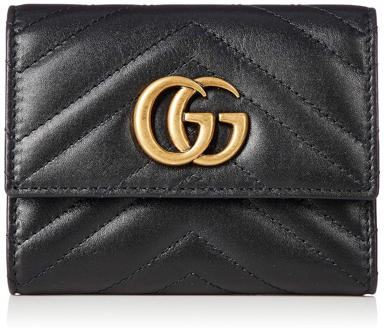影アンビエント不調和[グッチ] 財布 レディース GG MARMONT 2.0 折財布 並行輸入品 474802 DRW1T [並行輸入品]