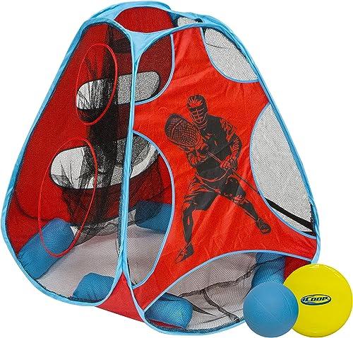 SWIM WAY Hydro 5-in-1-Schwimmbadspiel-Set, 76,2 cm, Blau   Rot