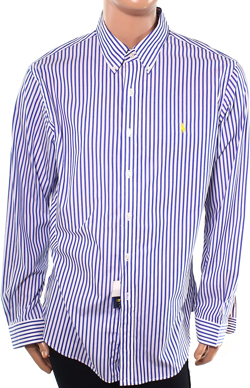Polo Ralph Lauren Mens Slim Fit Stretch Woven Buttondown Shirt