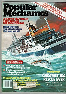 Popular Mechanics: April 1981 Volume 155, No. 4