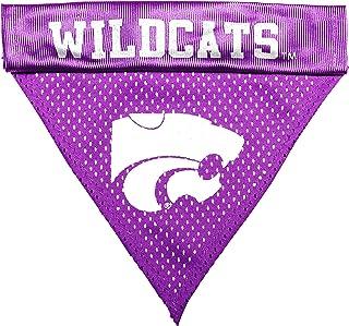 طوق للكلاب بشعار فريق كنساس ستيت وايلد كاتس بالرابطة الوطنية لرياضة الجامعات (NCAA) من بت جودز، مقاس واحد