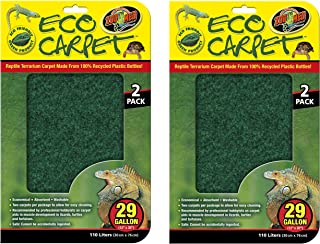 (4 Pack) Zoo Med Repti Cage Carpet for 29 Gallon Tanks, 12