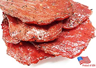 Made to Order Fire-Grilled Asian Beef Jerky (Black Pepper Flavor - 12 Ounce) - Los Angeles Times