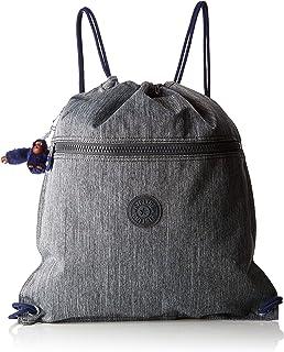 Kipling 凯浦林 SUPERTABOO 儿童运动包,45 厘米,15 升,灰色(灰色牛仔蓝)