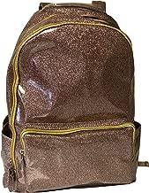 Bari Lynn Gold Soft Glitter Backpack