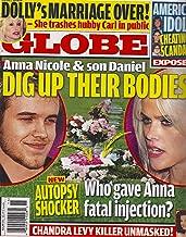 Anna Nicole Smith & Son Daniel l American Idol Cheating Scandal l Dolly Parton l Chandra Levy - April 2, 2007 Globe Magazine