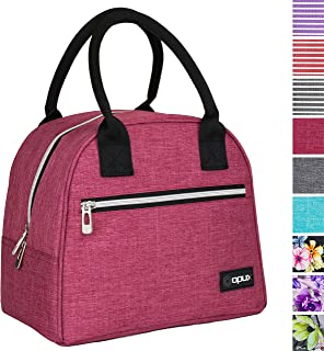 Lunch Container Large Cooler Bag Lunch Box for Men Women Pink Kids AOWIN Insulated Lunch Bag