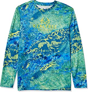 Staghorn Mens Long Sleeve Performance Tech Fishing Tee