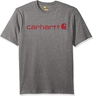 Carhartt Men's B&t Signature Logo Short-Sleeve Jersey T-Shirt K195
